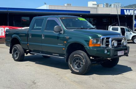 Used 2002 FORD F250 Utility 4dr XLT Dual Cab Auto 4sp 4x4 7.3DT 1026kg