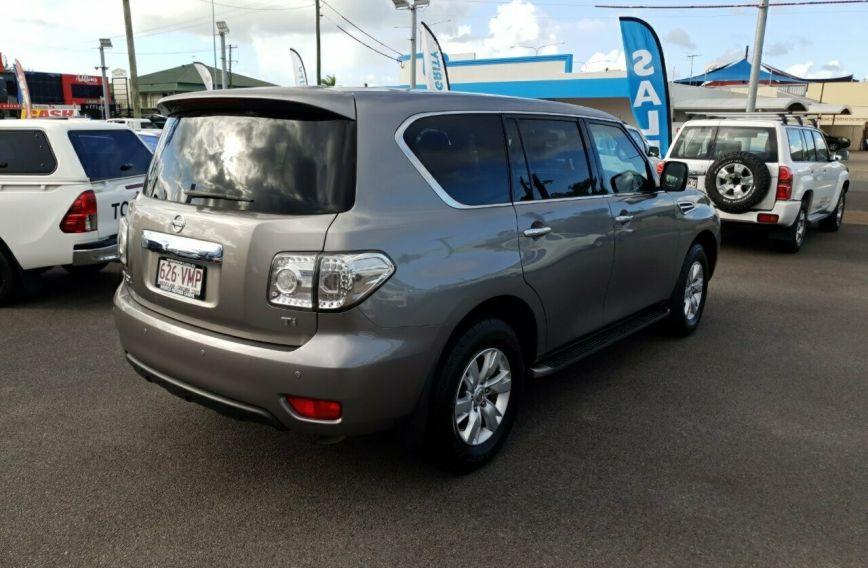 2013 NISSAN PATROL Ti  Y62  Wagon