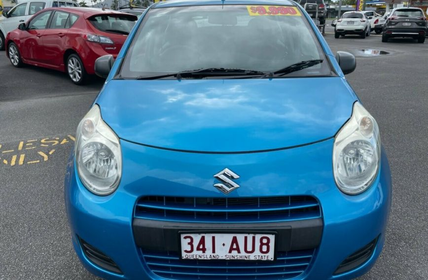 2010 SUZUKI ALTO GL  GF  Hatchback