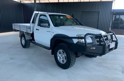 Used 2010 MAZDA BT-50 UNY0E4 Cab Chassis 2dr DX Single Cab Man 5sp 4x4 3.0DT 1441kg