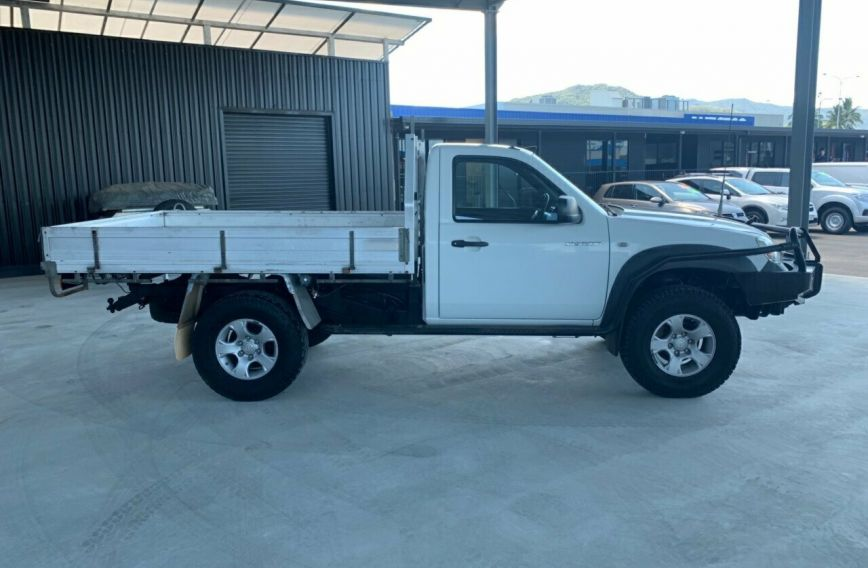 2010 MAZDA BT-50 DX  UNY0E4 Turbo CAB CHASSIS Single Cab