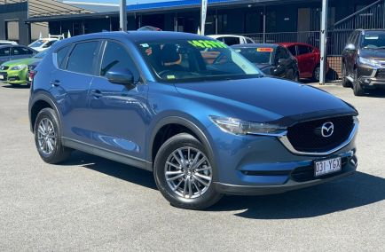 Used 2018 MAZDA CX-5 KF4W2A Wagon 5dr Touring SKYACTIV-Drive 6sp i-ACTIV AWD 2.2DTT