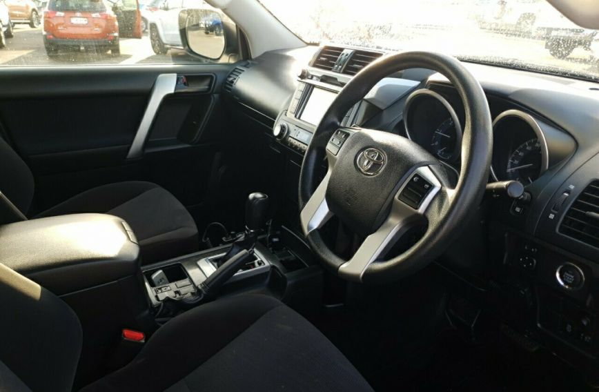 2016 TOYOTA LANDCRUISER PRADO GX  GDJ150R Turbo Wagon