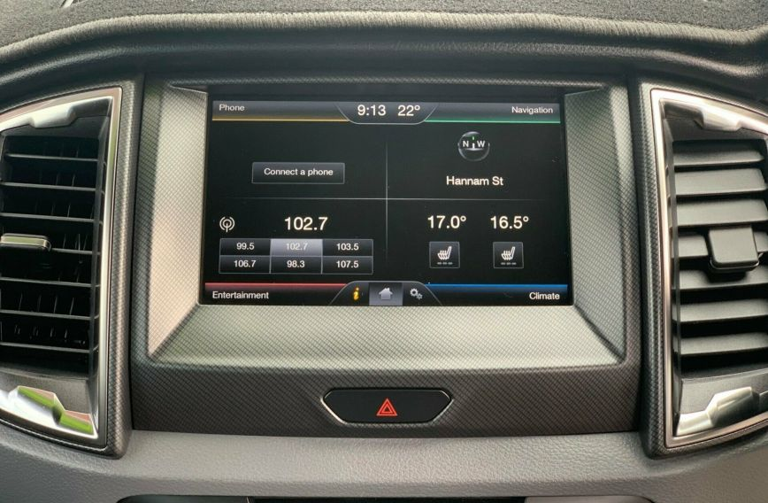 2015 FORD RANGER Wildtrak  PX Turbo UTILITY Dual Cab