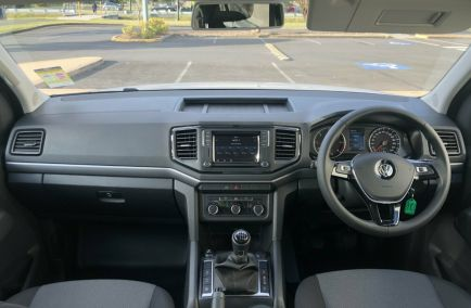 2019 VOLKSWAGEN AMAROK TDI400 Core 2H Tw.Turbo Dual Cab Chassis Utility