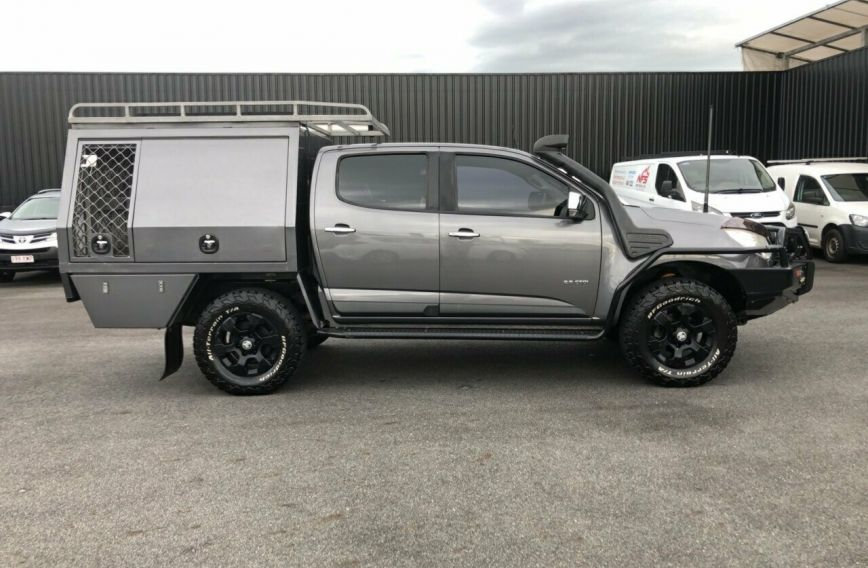 2012 HOLDEN COLORADO LTZ  RG Turbo UTILITY Dual Cab