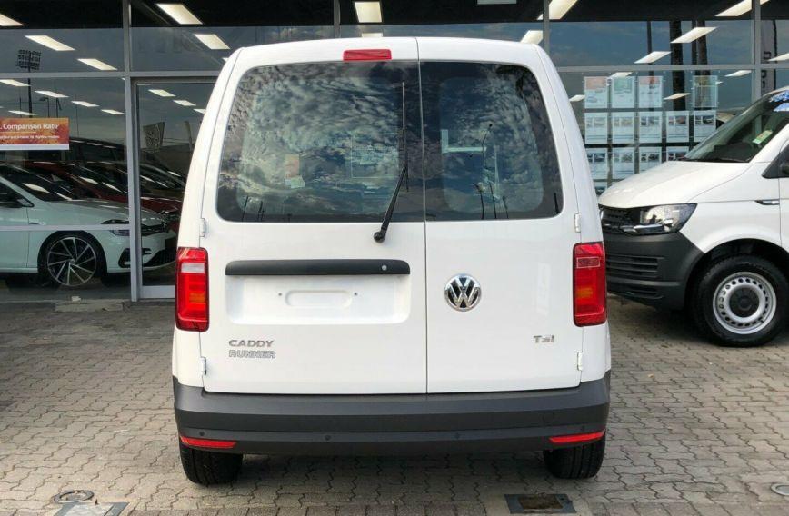 2018 VOLKSWAGEN CADDY TSI160 Runner 2KN Turbo Van