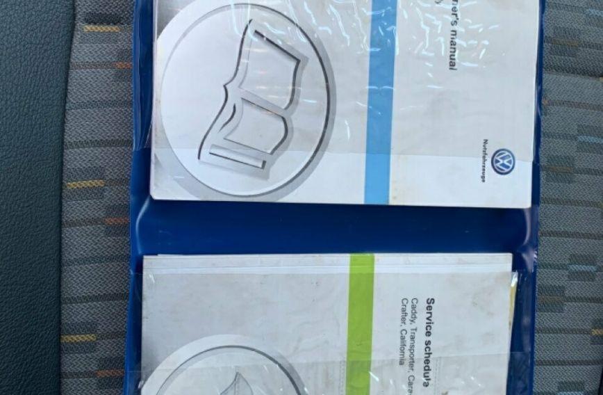2011 VOLKSWAGEN CADDY TSI160  2KN Turbo VAN