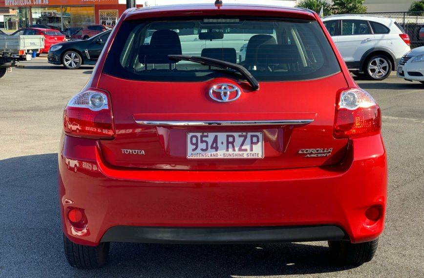 2011 TOYOTA COROLLA Ascent  ZRE152R  HATCHBACK