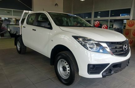 Demo 2019 MAZDA BT-50 UR0YG1 Cab Chassis 4dr XT Dual Cab Man 6sp 4x4 3.2DT 1268kg