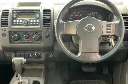 2008 NISSAN NAVARA ST-X  D40 Turbo Dual Cab Utility