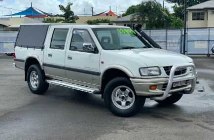 Used 2000 HOLDEN RODEO TF R9 Utility 4dr LT Sports Crew Cab Man 5sp 4x4 2.8DT 925kg