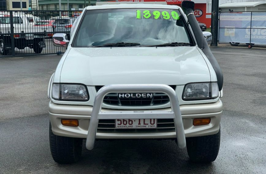 2000 HOLDEN RODEO LT Sports TF R9 Turbo UTILITY Dual Cab