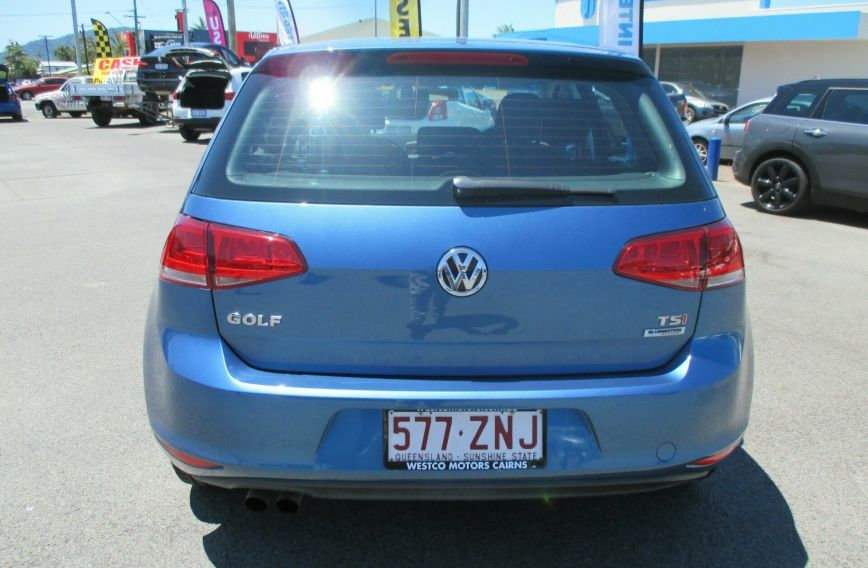 2014 VOLKSWAGEN GOLF 90TSI  VII Turbo Hatchback