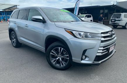 Used 2018 TOYOTA KLUGER GSU50R Wagon 5dr GX 7st Spts Auto 8sp 2WD 3.5i