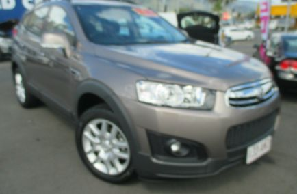 Used 2015 HOLDEN CAPTIVA CG MY15 7 Active Wagon 7st 5dr Spts Auto 6sp 2.4i (FWD)