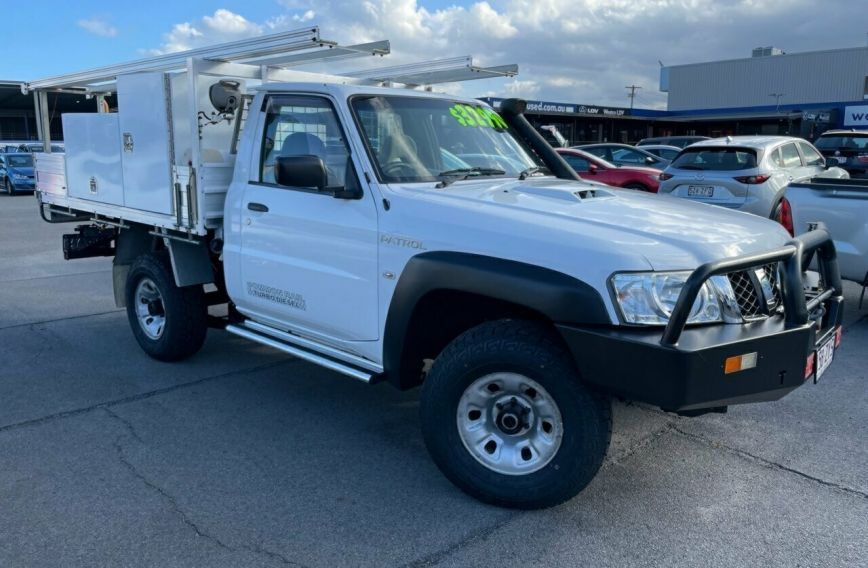 2012 NISSAN PATROL DX  GU 6 Turbo Single Cab Chassis Utility