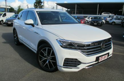 Used 2019 VOLKSWAGEN TOUAREG CR MY19 190TDI Launch Edition Wagon 5dr Tiptronic 8sp 4MOTION 3.0DT
