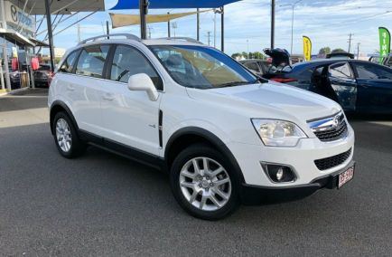 Used 2012 HOLDEN CAPTIVA CG Series II Wagon 5dr 5 Spts Auto 6sp 2.4i