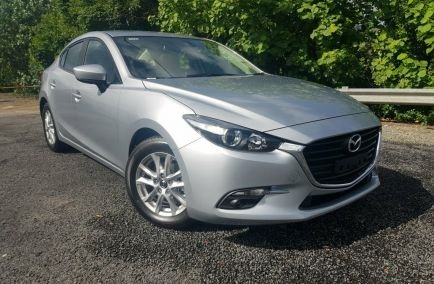 New 2018 MAZDA 3 BN5276 Sedan 4dr Neo Sport SKYACTIV-MT 6sp 2.0i