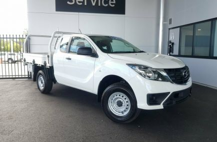 New 2019 MAZDA BT-50 UR0YG1 Cab Chassis 4dr XT Freestyle Spts Auto 6sp 4x4 3.2DT 1315kg
