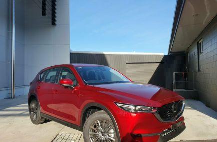 New 2021 MAZDA CX-5 KF4WLA Maxx Sport Wagon 5dr SKYACTIV-Drive 6sp i-ACTIV AWD 499kg 2.5i