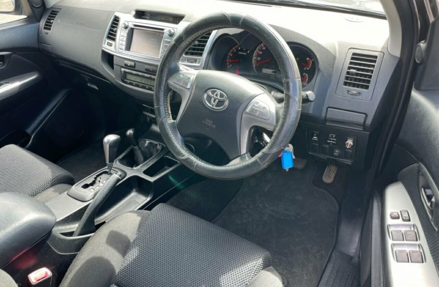 2013 TOYOTA HILUX SR5  KUN26R Turbo Dual Cab Utility