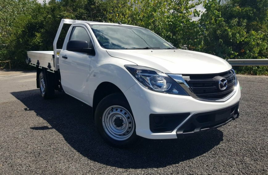2018 MAZDA BT-50 XT  UR0YE1 Turbo CAB CHASSIS Single Cab