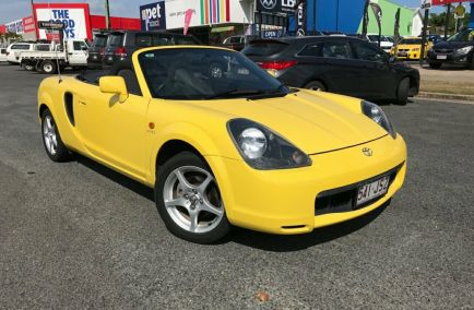 Used 2001 TOYOTA MR2 ZZW30R Convertible 2dr Spyder Seq. Mac 5sp 1.8i