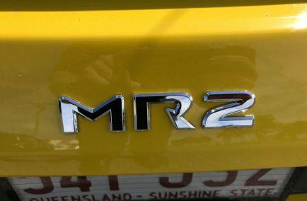 2001 TOYOTA MR2 Spyder  ZZW30R  Convertible