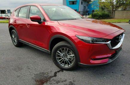 New 0 MAZDA CX-5 KF4W2A Wagon 5dr Maxx Sport SKYACTIV-Drive 6sp i-ACTIV AWD 2.2DTT