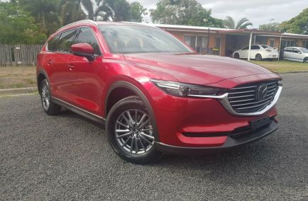 New 2018 MAZDA CX-8 KG2W2A Wagon 5dr Sport 7st SKYACTIV-Drive 6sp FWD 2.2DTT