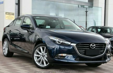 Demo 2018 MAZDA 3 BN5238 Sedan 4dr SP25 GT SKYACTIV-Drive 6sp 2.5i