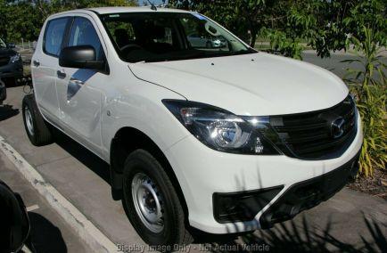 New 2019 MAZDA BT-50 UR0YG1 Cab Chassis 4dr XT Dual Cab Man 6sp 4x4 3.2DT 1268kg