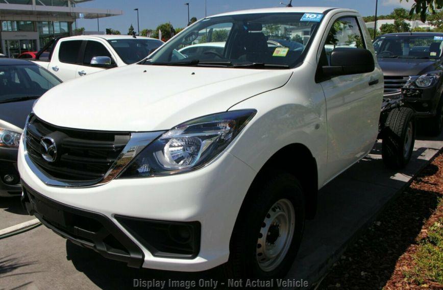 2019 MAZDA BT-50 XT  UR0YG1 Turbo CAB CHASSIS Single Cab