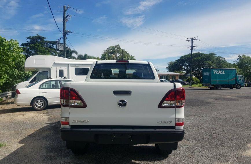 2018 MAZDA BT-50 XT  UR0YG1 Turbo UTILITY Dual Cab