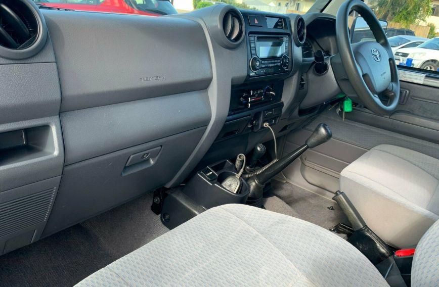 2018 TOYOTA LANDCRUISER GXL  VDJ79R Turbo CAB CHASSIS Dual Cab