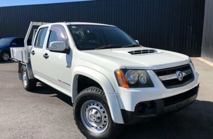 Used 2010 HOLDEN COLORADO RC Cab Chassis 4dr LX Crew Cab Man 5sp 4x4 3.0DT 1113kg