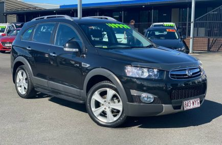 Used 2013 HOLDEN CAPTIVA CG Wagon 5dr 7 LX 7st Spts Auto 6sp AWD 2.2DT