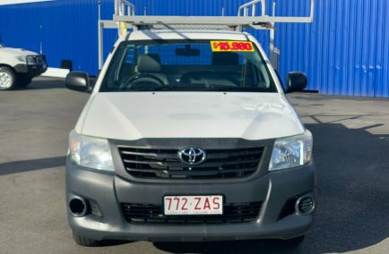 2014 TOYOTA HILUX Workmate  TGN16R  Single Cab Chassis Utility