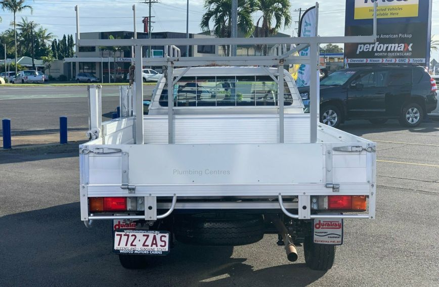 2014 TOYOTA HILUX Workmate  TGN16R  CAB CHASSIS Single Cab