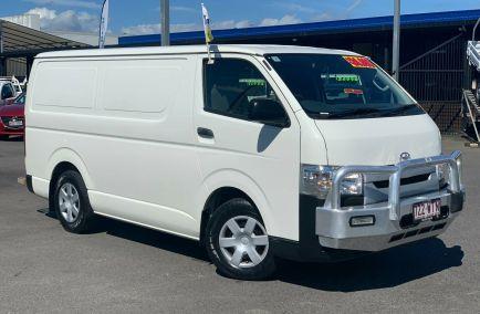 Used 2016 TOYOTA HIACE KDH201R Van 4dr LWB Auto 4sp 3.0DT 965kg