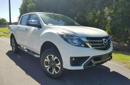 Demo 2018 MAZDA BT-50 UR0YG1 Utility 4dr XTR Dual Cab Spts Auto 6sp 4x4 3.2DT 1095kg