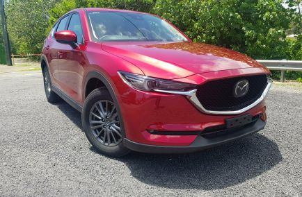 New 2018 MAZDA CX-5 KF4W2A Wagon 5dr Touring SKYACTIV-Drive 6sp i-ACTIV AWD 2.2DTT 500kg