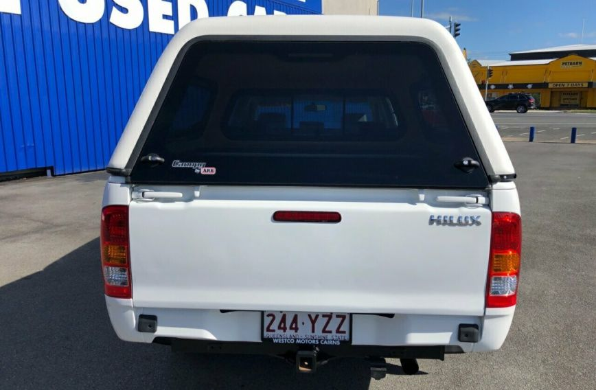 2009 TOYOTA HILUX Workmate  TGN16R  Dual Cab Utility