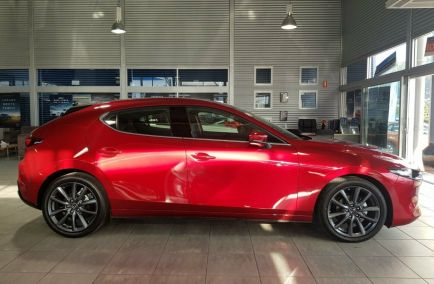 2019 MAZDA 3 G25 GT BP2HLA  Hatchback