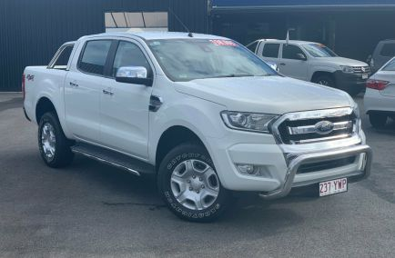 Used 2016 FORD RANGER PX MkII Utility 4dr XLT Double Cab Spts Auto 6sp 4x4 3.2DT 952kg