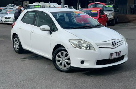Used 2011 TOYOTA COROLLA ZRE152R Hatchback 5dr Ascent Auto 4sp 1.8i 495kg