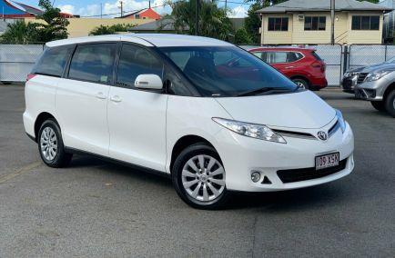 Used 2017 TOYOTA TARAGO ACR50R Wagon 5dr GLi 8st CVT 7sp 2.4i 635kg