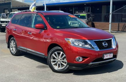 Used 2014 NISSAN PATHFINDER R52 Wagon 5dr ST-L 7st X-tronic 1sp 2WD 3.5i